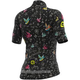 Alé Cycling Graphics PRR Versilia Koszulka z krótkim rękawem Kobiety, czarny/kolorowy